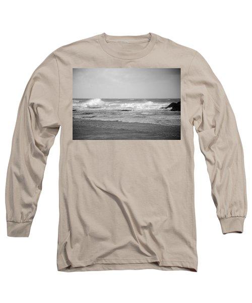 Wind Blown Waves Tofino Long Sleeve T-Shirt