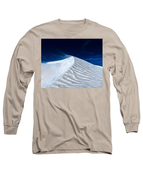 Wind Over White Sands Long Sleeve T-Shirt