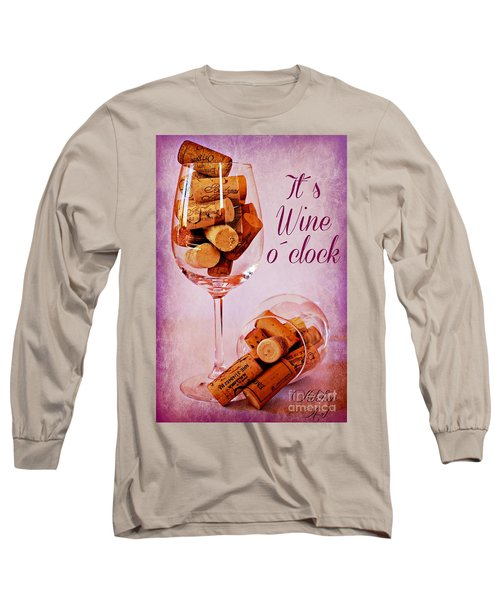 Wine Time Long Sleeve T-Shirt