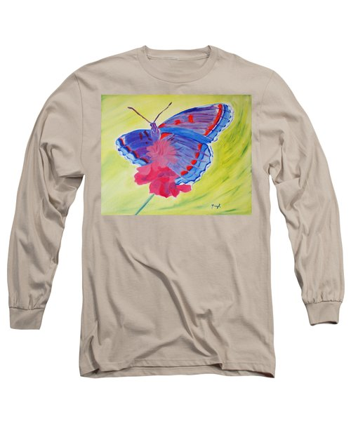 Winged Delight Long Sleeve T-Shirt
