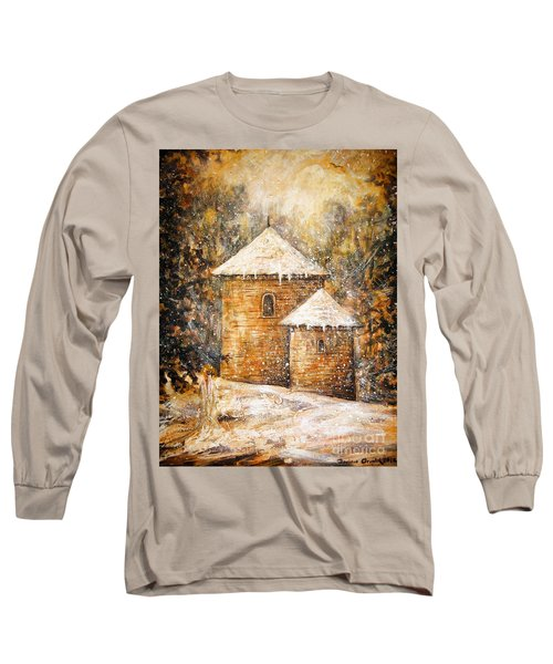 Winter Angel Long Sleeve T-Shirt