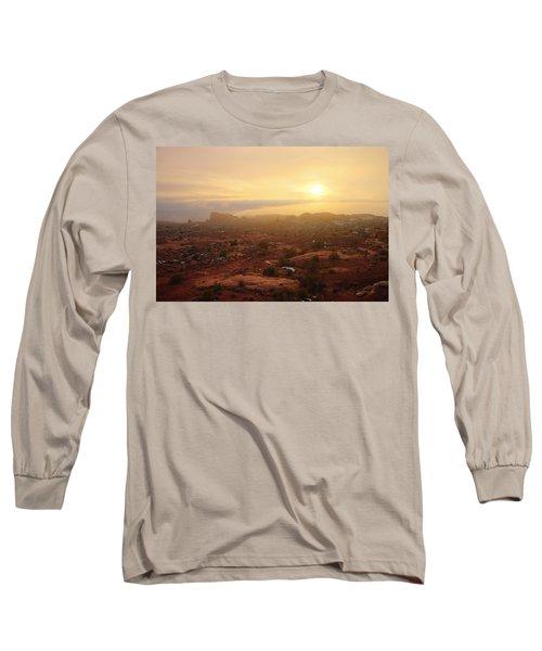 Winter Desert Glow Long Sleeve T-Shirt