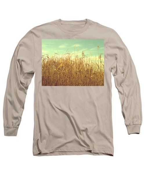 Winter Grass Long Sleeve T-Shirt