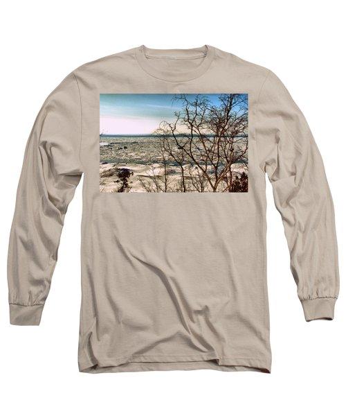 Winter Ice On Lake Michigan Long Sleeve T-Shirt