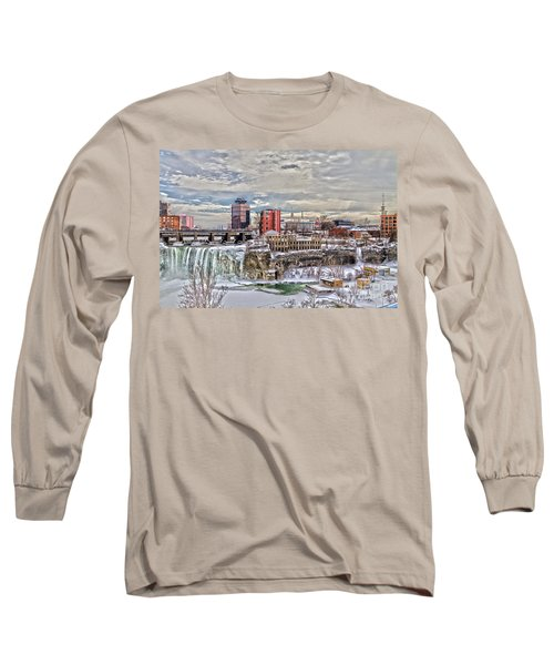 Winter In Rochester Long Sleeve T-Shirt