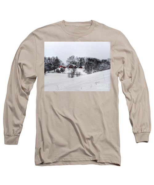 Winter Landscape 5 Long Sleeve T-Shirt