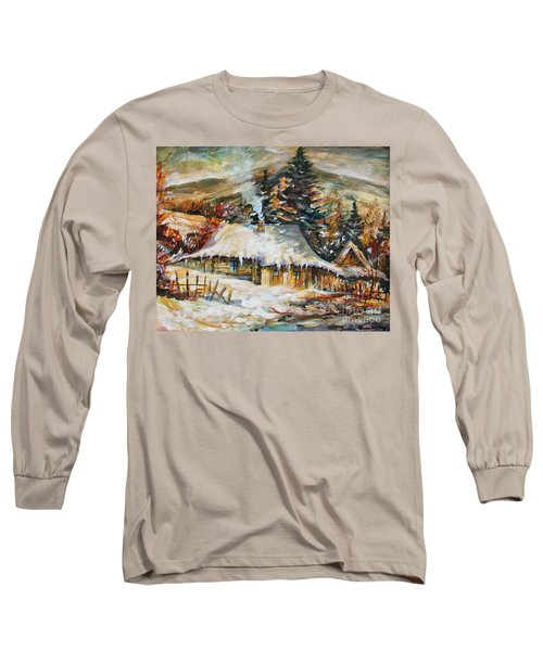 Winter Magic Long Sleeve T-Shirt