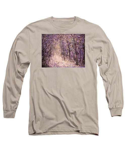 Winter Magic Long Sleeve T-Shirt by Natalie Holland