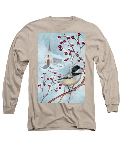 Winter Scene I Long Sleeve T-Shirt