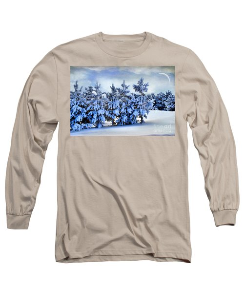 Winter Serenity  Long Sleeve T-Shirt by Andrea Kollo