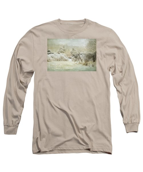 Long Sleeve T-Shirt featuring the photograph Winter Silence by Julie Palencia