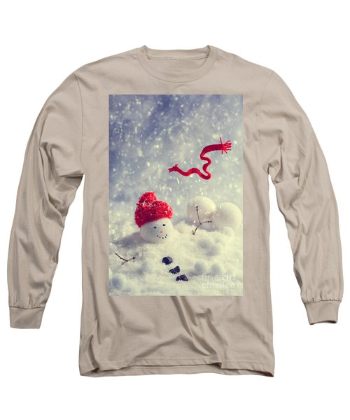 Winter Snowman Long Sleeve T-Shirt