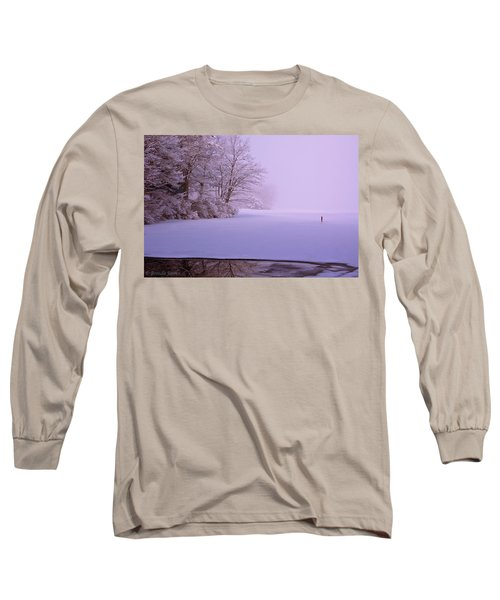 Long Sleeve T-Shirt featuring the photograph Winter Solstice by Brenda Jacobs