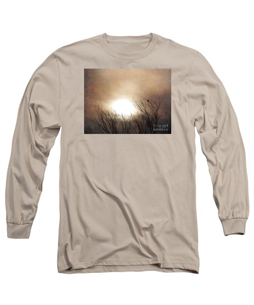 Winter Solstice Long Sleeve T-Shirt by Roselynne Broussard