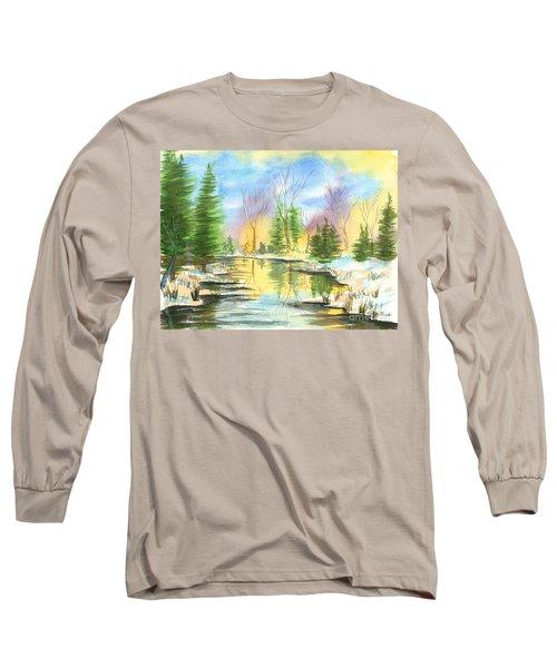Winter Stillness Long Sleeve T-Shirt