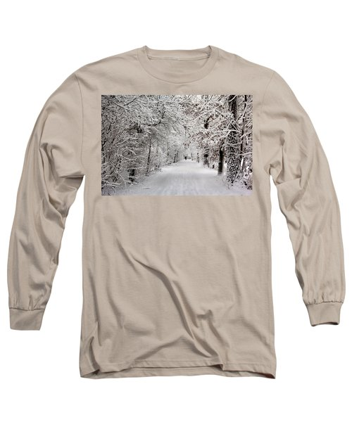 Winter Walk In Fairytale  Long Sleeve T-Shirt