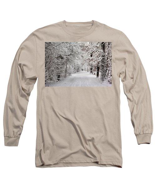 Winter Walk In Fairytale  Long Sleeve T-Shirt