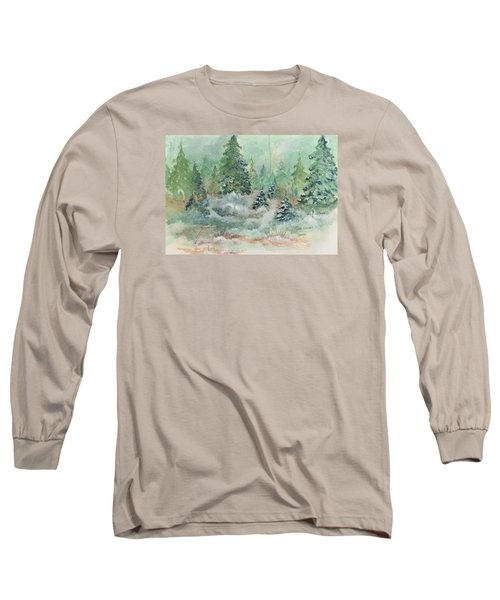 Winter Wonderland Long Sleeve T-Shirt by Lee Beuther