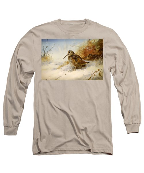 Winter Woodcock Long Sleeve T-Shirt