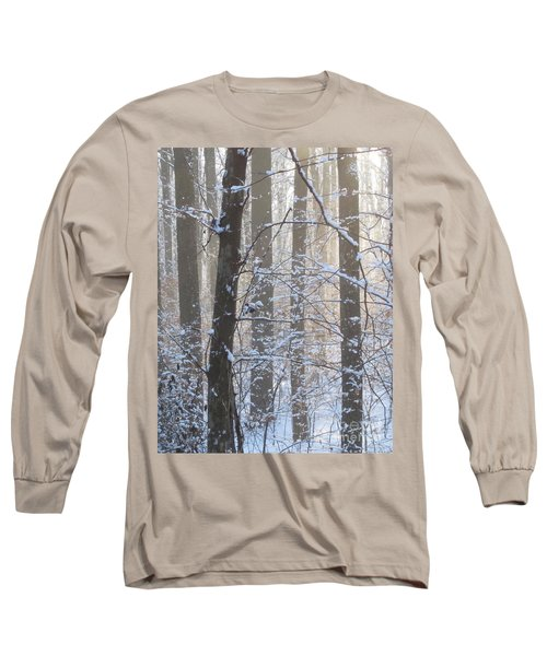 Winter Woodland Long Sleeve T-Shirt