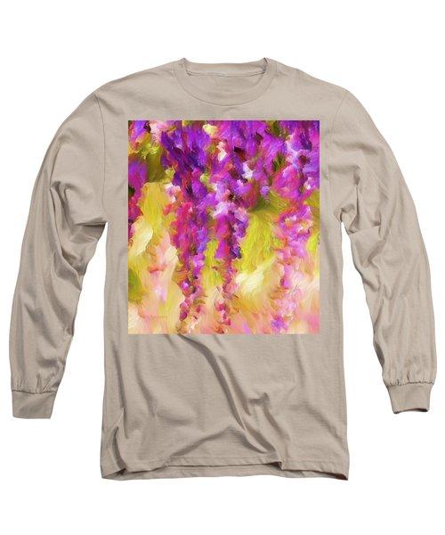 Wisteria Dreams Long Sleeve T-Shirt
