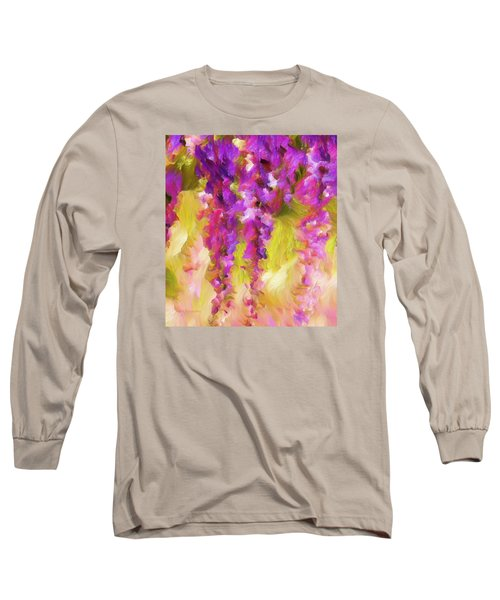 Wisteria Dreams Long Sleeve T-Shirt