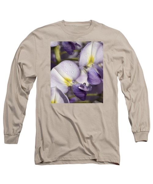 Wisteria Long Sleeve T-Shirt by Richard Thomas