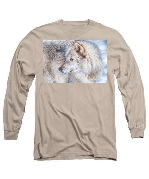 Wolf In Disguise Long Sleeve T-Shirt by Bianca Nadeau
