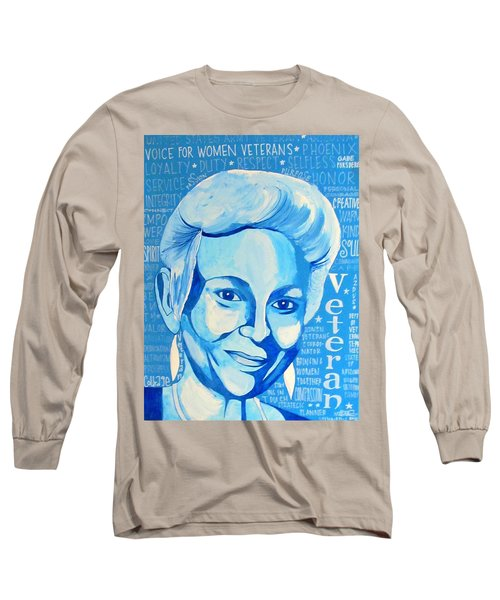 Woman Veteran Gabe Long Sleeve T-Shirt