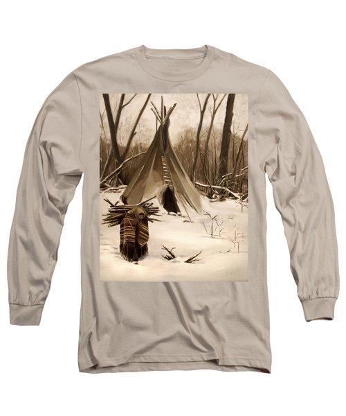 Wood Gatherer Long Sleeve T-Shirt