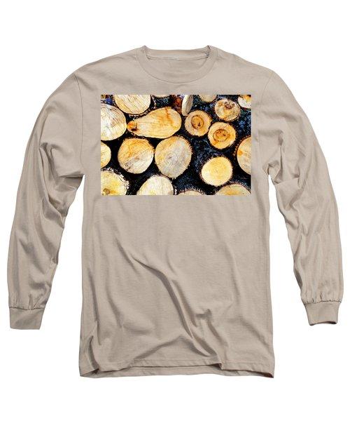 Wood Pile Long Sleeve T-Shirt