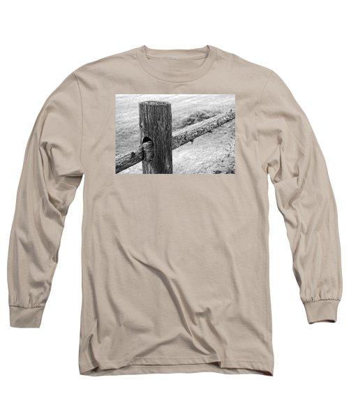Wood Railing Long Sleeve T-Shirt