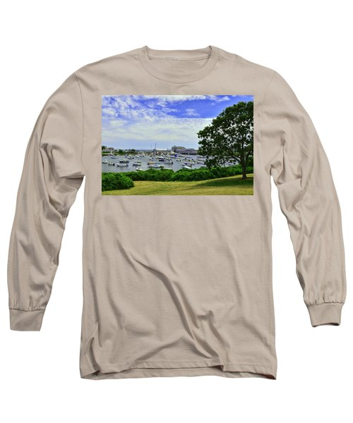 Wychmere Harbor Long Sleeve T-Shirt by Allen Beatty