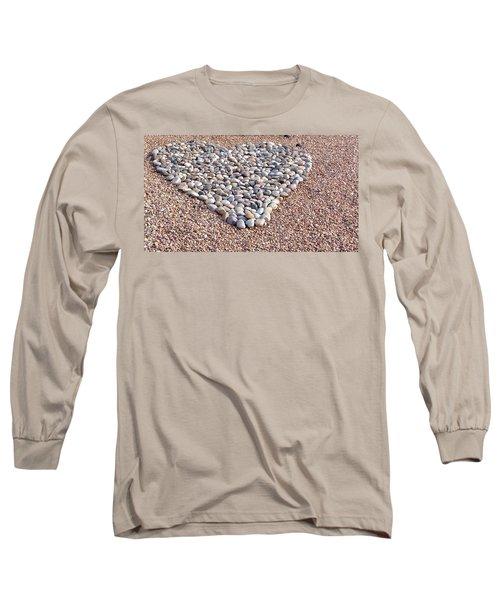 Xeriscape Heart Long Sleeve T-Shirt