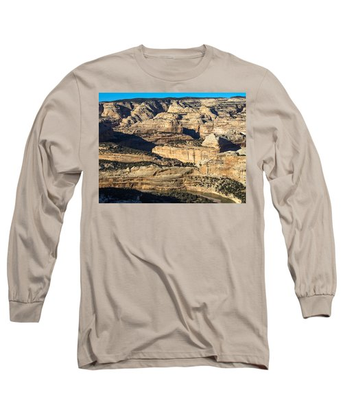 Yampa River Canyon In Dinosaur National Monument Long Sleeve T-Shirt