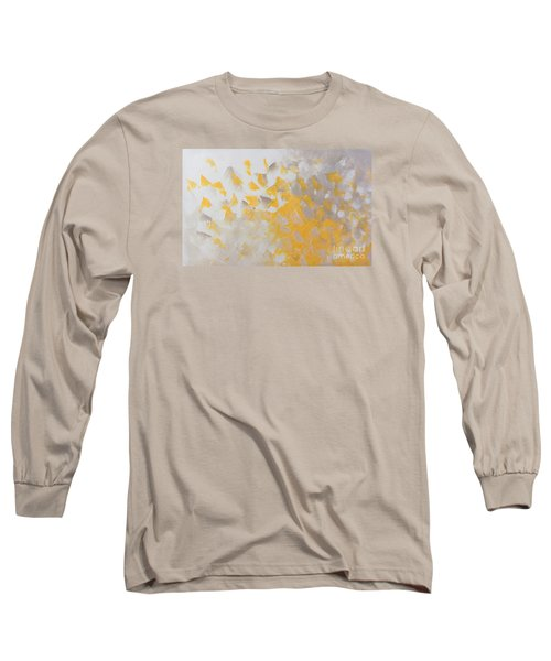 Yellow Cloud Long Sleeve T-Shirt