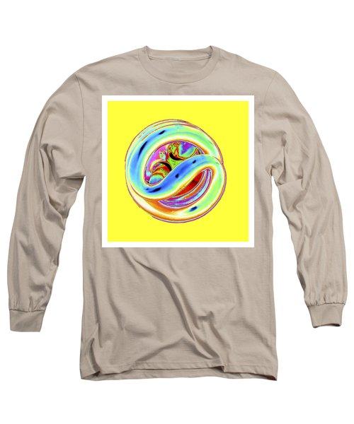 Yellow Fluorescent Long Sleeve T-Shirt