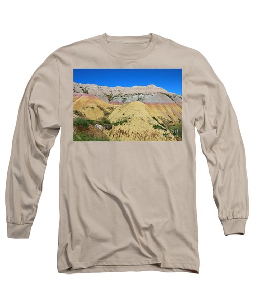 Yellow Mounds Badlands National Park Long Sleeve T-Shirt