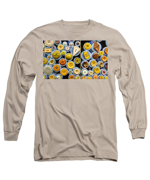 Yellow Palate Long Sleeve T-Shirt by Jean Noren
