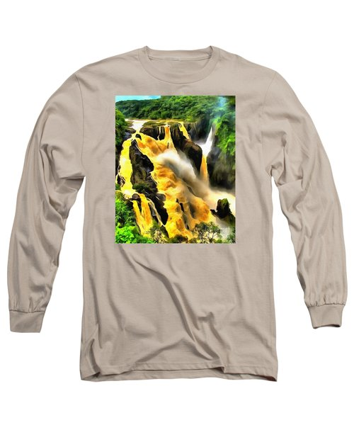 Yellow River Long Sleeve T-Shirt