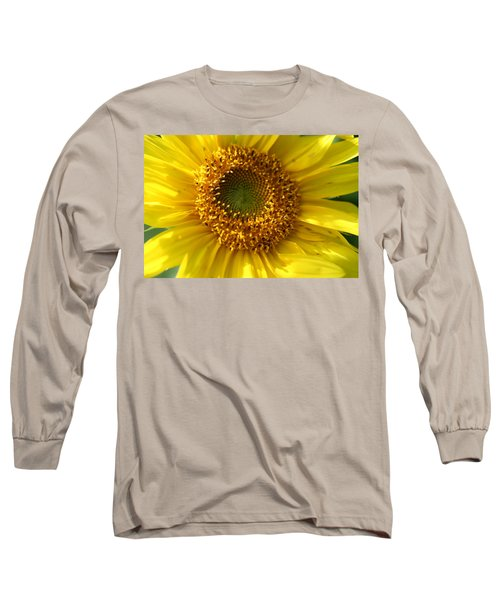 Yellow Sunshine Long Sleeve T-Shirt by Neal Eslinger