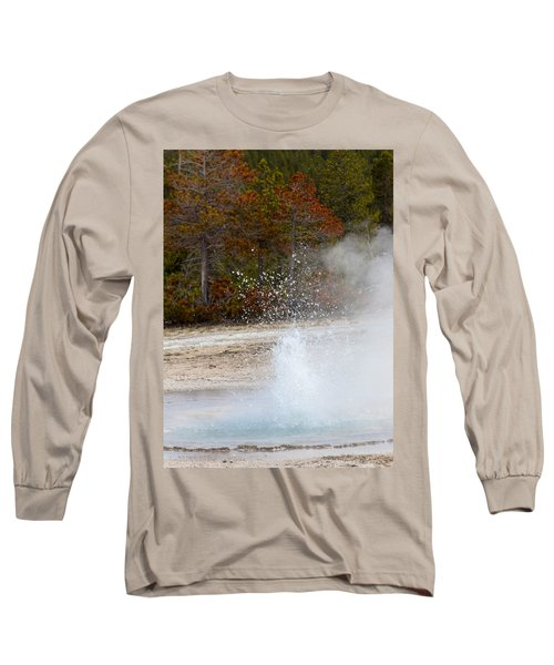 Yellowstone Geyser Long Sleeve T-Shirt