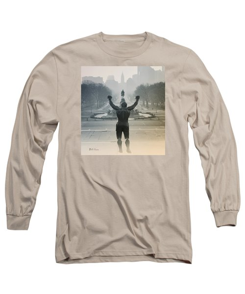 Long Sleeve T-Shirt featuring the photograph Yo Adrian by Bill Cannon
