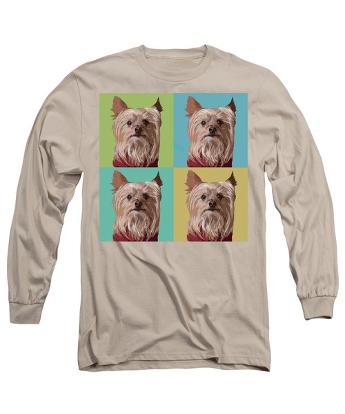 Yorkie Times Four Long Sleeve T-Shirt
