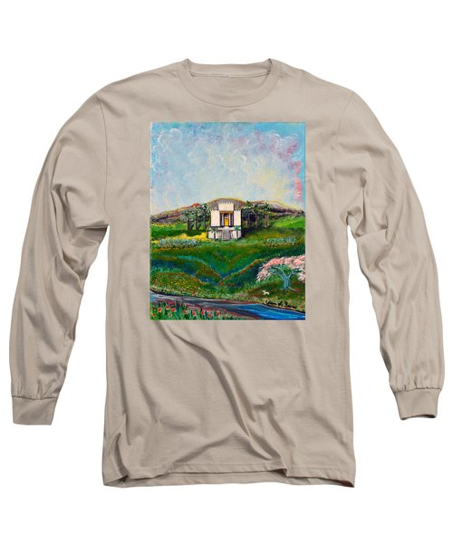 You Are The Temple Of God Long Sleeve T-Shirt by Cassie Sears