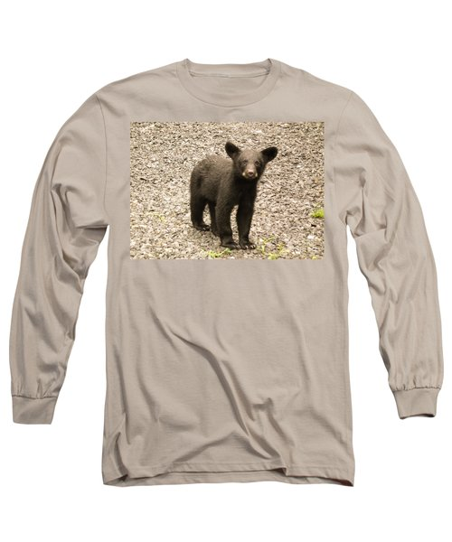 Long Sleeve T-Shirt featuring the photograph Young Cub by Jan Dappen
