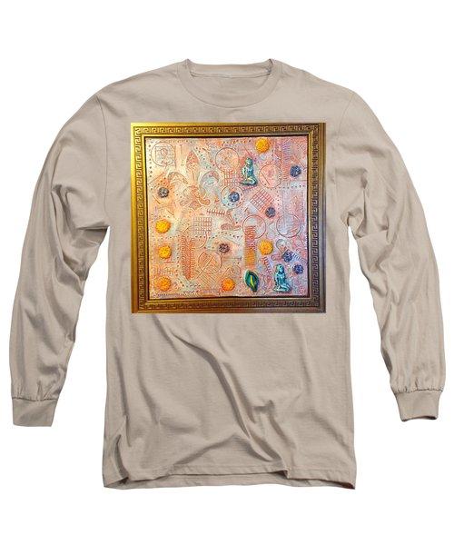 Your Decepting Confusing Lies By Alfredo Garcia Art Long Sleeve T-Shirt