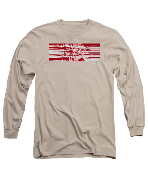 Your Thoughts Are Feeding His Soul  Long Sleeve T-Shirt by Sir Josef - Social Critic -  Maha Art