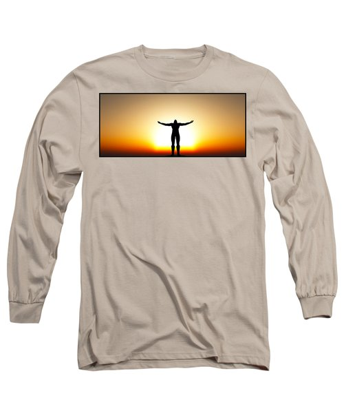 Your Will Be Done... Long Sleeve T-Shirt by Tim Fillingim