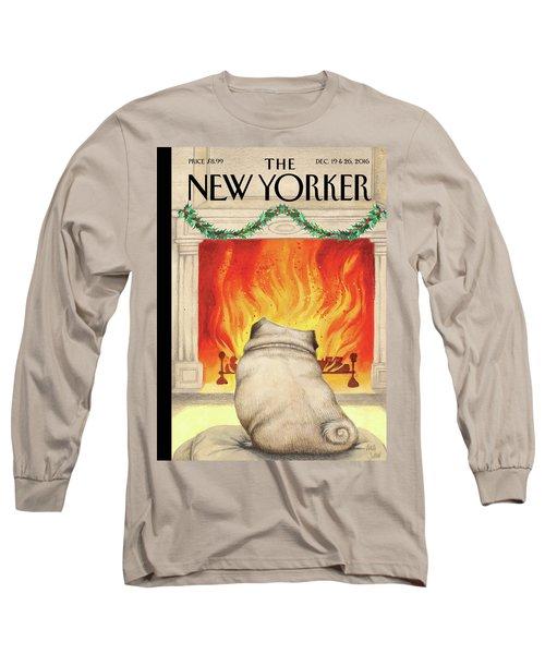 Yule Dog Long Sleeve T-Shirt